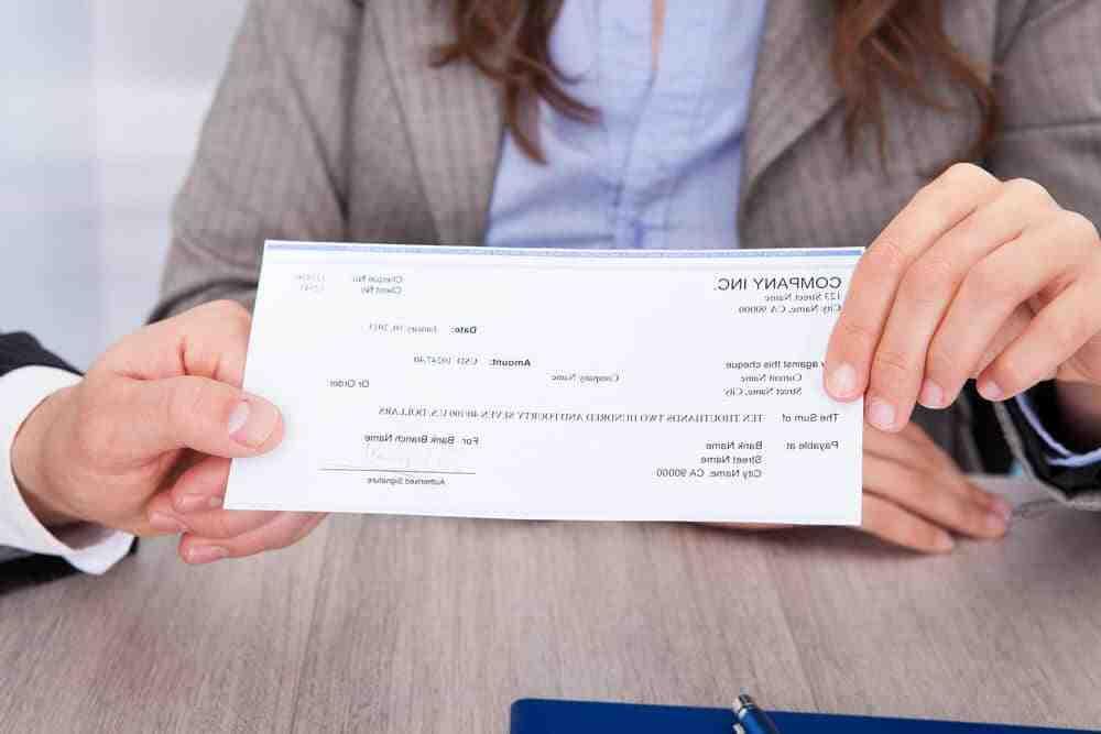 Comment encaisser un cheque